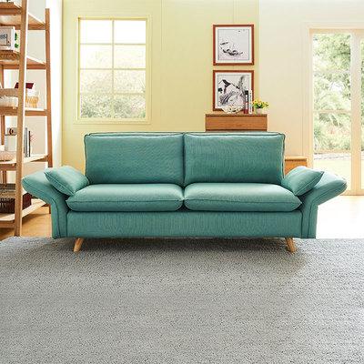 北欧日式可折叠拆洗沙发客厅整装三人时尚休闲小户型布艺沙发卧室十大品牌