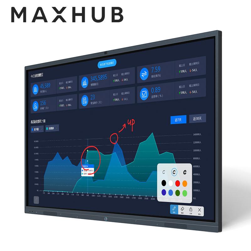 【官方旗舰店】MAXHUB智能会议平板X3触摸交互式互动电子白板黑板 多媒体教学一体机投影仪65寸55寸75寸86寸