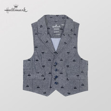 Hallmark Hermann Boys Chunqiu Junior Gentleman Jacket vest/jacket
