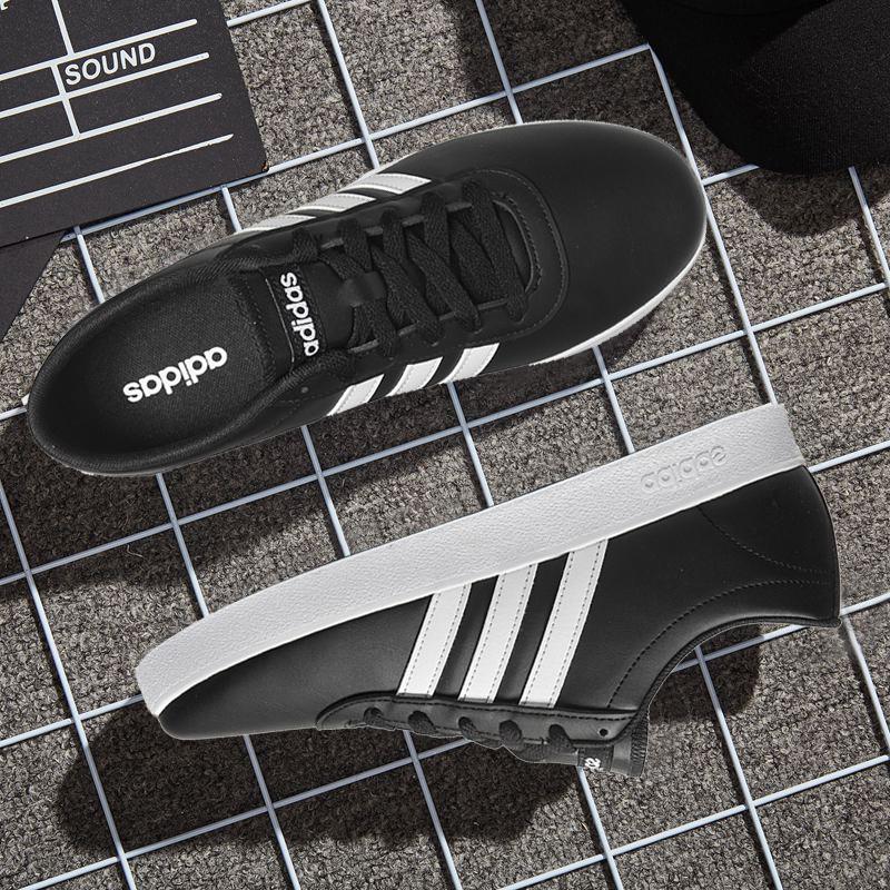 阿迪达斯男鞋冬季新款正品NEO运动鞋轻便休闲鞋耐磨板鞋男B43665