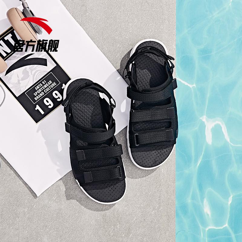 安踏凉鞋男鞋2019新款夏季潮流休闲男士沙滩凉鞋休闲鞋运动凉鞋男