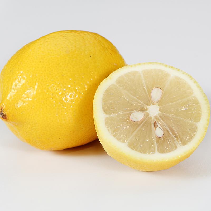 荷尔檬6斤四川安岳黄柠檬超大果当季新鲜水果批发整箱包邮