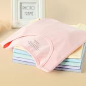 白色t恤女夏短袖2019新款ins洋气纯棉修身紫色锁骨紧身网红上衣T
