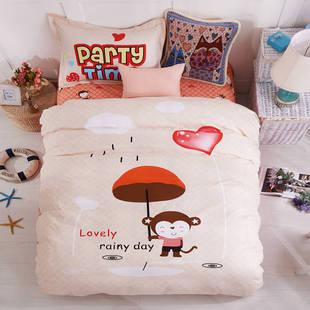 全棉三件套卡通儿童学生宿舍1米纯棉床上用品1.2m个性床单被套