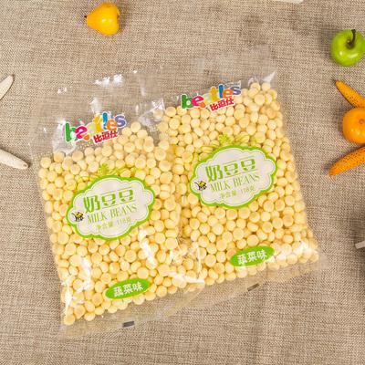 比逗仕奶豆豆  溶豆豆 综合味袋装 儿童零食辅食 118g×2袋