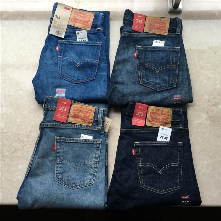 美国官网正品李维斯 Levis 513 男士修身直筒牛仔裤,levi's李维斯牛仔裤