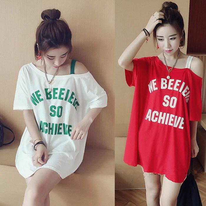 10-20块的连衣裙夏季韩版潮短袖连衣裙子女学生宽松显瘦中长款吊