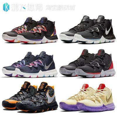 鸿飞NIKE Kyrie 5欧文5代CNY黑白橙TACO男子篮球鞋AO2919-901-010