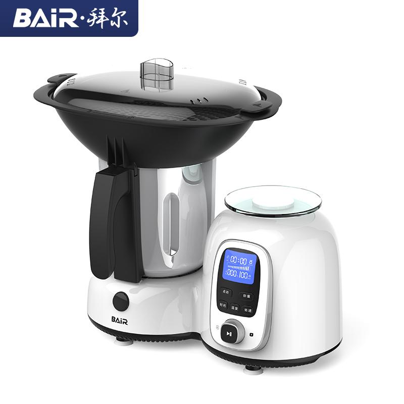 拜尔 F1厨小美多功能料理机加热炒菜全自动智能小型婴儿辅食烹饪