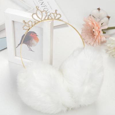冬款爱心耳套可爱女生毛绒多色耳罩防护保暖骑车耳暖韩版骑行耳捂