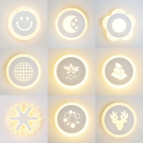 壁灯酒店会所床头阅读灯氛围灯LED双光源双开关卧室现代简约北欧