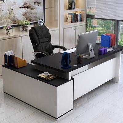 简约现代办公家具经济型家用台式电脑桌写字台主管经理老板桌单人