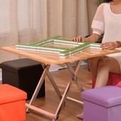 正方形4人麻将桌椅手搓简易简约吃饭小四方桌子 可折叠桌餐桌家用