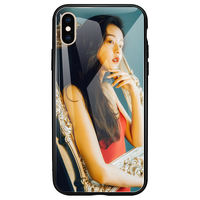 Custom mobile phone shell any model 8x Apple 6s6DIY7plus photo glass r9s to map oppor11s female