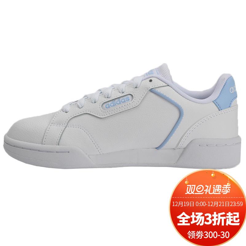 Adidas阿迪达斯女鞋板鞋 运动鞋女秋季新款NEO低帮休闲鞋 EH2027