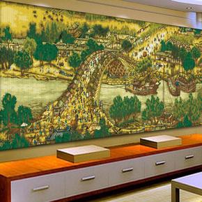 KS十字绣正品清新印花清明上河图珍藏版2.4米满绣风景客厅大幅画