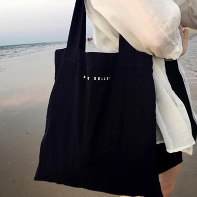 ins帆布斜挎包韩版ulzzang文艺学生韩国单肩女原宿风手提布袋日系