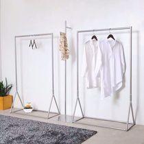 型室內外陽臺移動地攤掛衣架x單雙桿式晾衣架落地折疊曬被曬衣架
