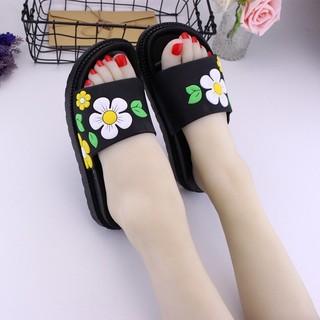拖鞋女外穿可湿水高跟可爱夏女鞋韩版学生厚底中跟时尚防滑凉拖
