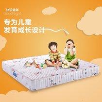 天然乳胶席梦思静音弹簧床垫多喜爱儿童床垫预