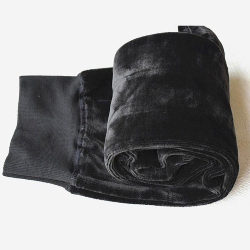 加肥加大码女装2017胖mm冬装加绒加厚特厚打底裤袜特大200斤棉裤