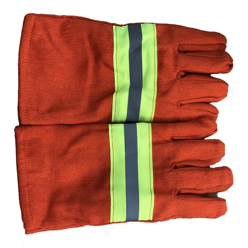 97款消防手套加厚手套消防防护手套隔热阻燃救援防滑耐高温