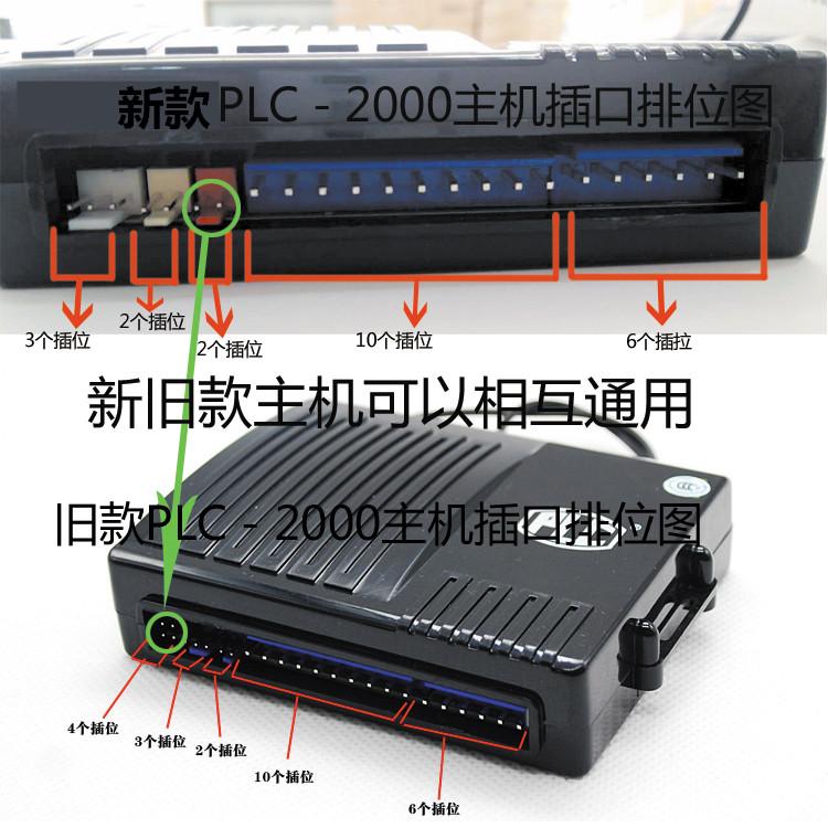 特价汽车防盗器 PLC配件PLC-2000单向主机+两遥控器原厂正品联保