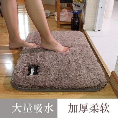 加厚地垫门垫进门卫生间门口门厅家用脚垫浴室防滑垫卫浴吸水地毯