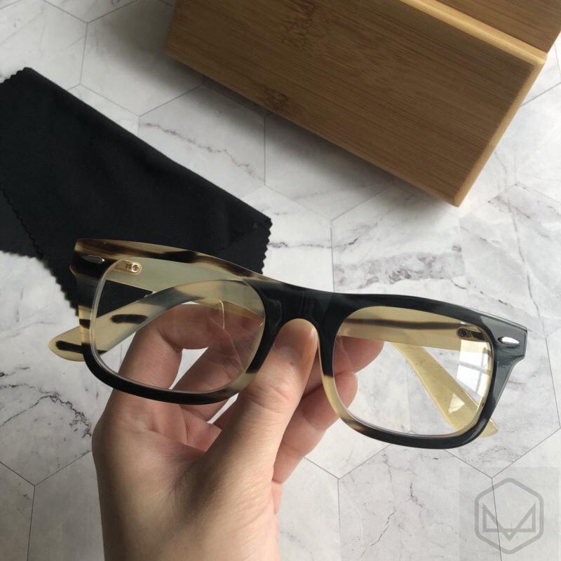 牛角眼镜 框架