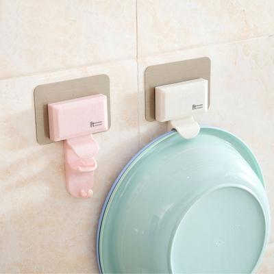巧居家墙壁脸盆挂钩浴室创意无痕挂架卫生间强力壁挂脸盆架挂盆架