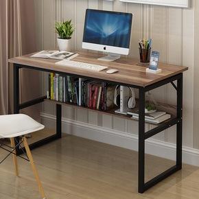 电脑桌台式家用简约经济型卧室桌子简易单人书桌组装办公桌写字台
