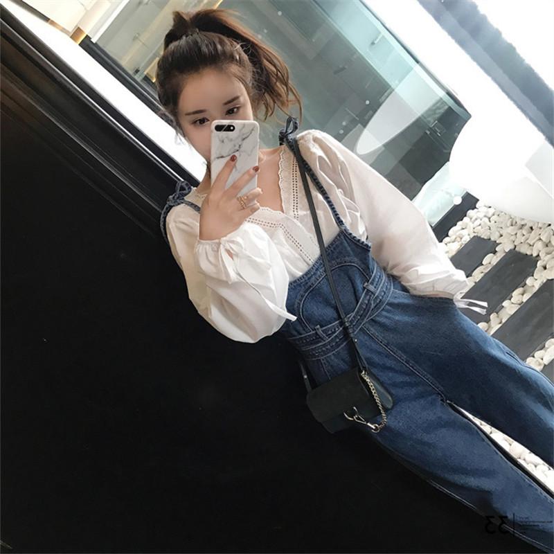 秋季背带裤长裤女