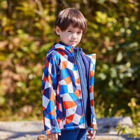 Pathfinder big boy soft shell coat 18 autumn and winter outdoor boys and girls warm coat QAEG94077/93075