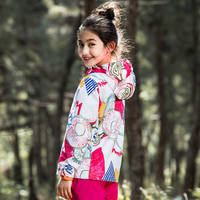 Pathfinder children's jacket girls new spring and autumn children's outdoor thin section single layer girl assault