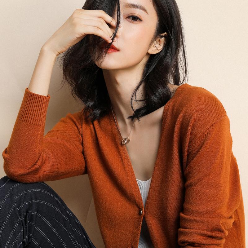 韩版针织大码女