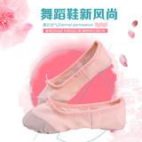 包邮形体瑜伽鞋芭蕾舞鞋猫爪鞋跳舞鞋成人儿童舞蹈鞋女软底练功鞋