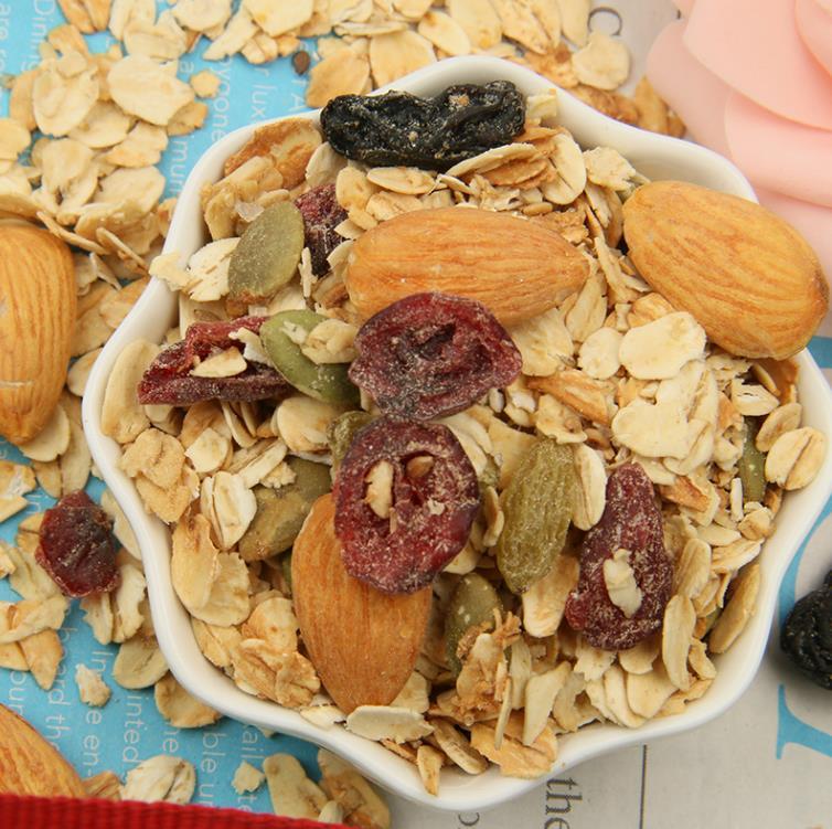 一禾谷香果仁麦片350g即食早餐烘焙谷物水果坚果酸奶伴侣