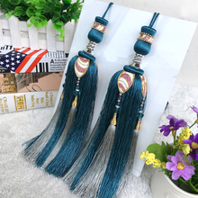 European accessories curtain, curtain, curtain, hanging spike decoration tassels, hanging ball cloth, table flag accessories, spikelets, hanging spike