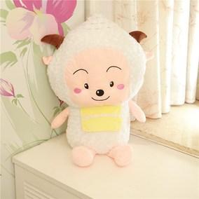 包邮 喜洋洋毛绒玩具懒洋洋美羊羊懒羊羊布娃娃大号公仔儿童礼物