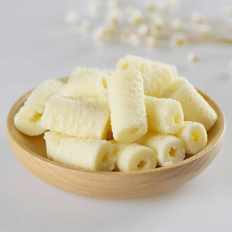 酸奶疙瘩桶装奶酪200g内蒙古奶酪牛奶棒奶酥块干儿童零食健康营养