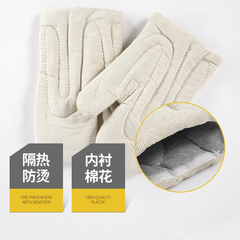 加厚防烫 耐高温手套 500度工业隔热微波炉烘焙厨房防热专用手套