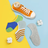 Socks female summer socks shallow mouth cotton boat socks silicone non-slip thin section Japanese low to help invisible in the tube ins tide