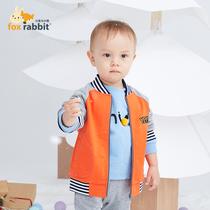 岁6潮5韩版4洋气小童3儿童夹克2宝宝春装1新款2019男童外套春秋款
