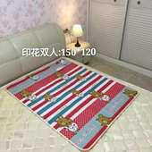 正品相思豆双人电热毯1.5×1.2米双人印花安全防水无辐射家用学生