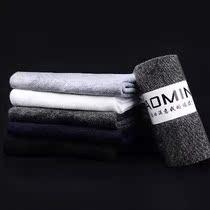 中筒袜纯棉袜四季白色男袜爸爸四季款深色棉袜子薄款夏季男式中筒