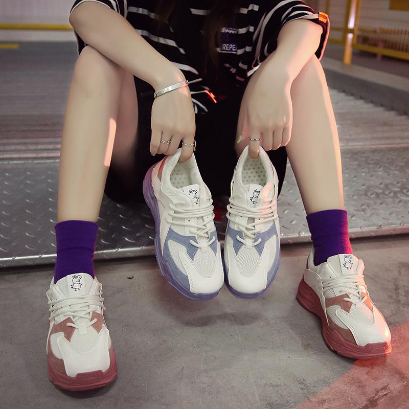 韩版糖果色运动鞋
