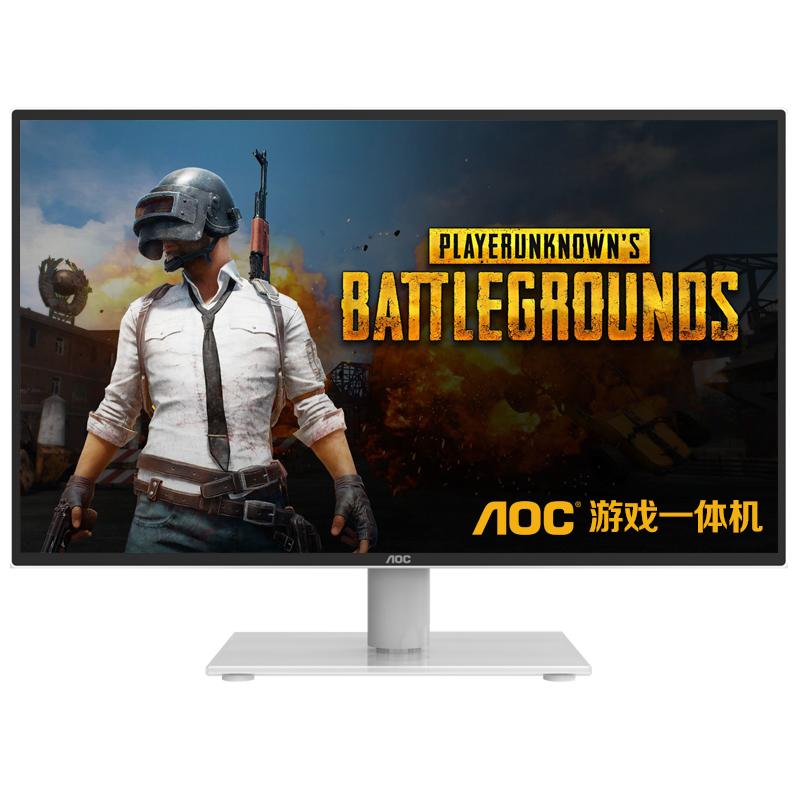 寸 32 27 24 四核组装机 i5 家用办公网吧台式一体机电脑游戏吃鸡 AOC