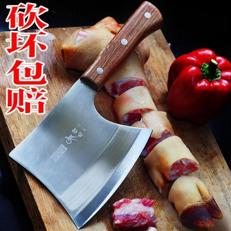 砍骨刀斧头刀斩骨刀剁骨斧商用屠夫加厚手工锻打菜刀家用厨房用品