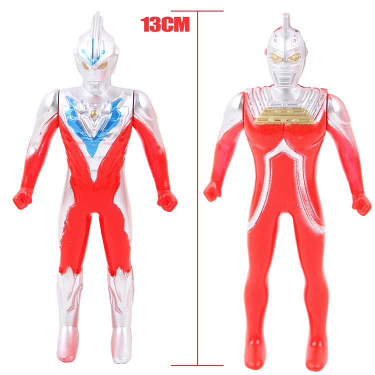 地摊热卖儿童益智玩具7015超人15只组合套装玩具玩具宇宙超人