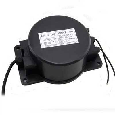 Outdoor waterproof transformer 220 volts 24V12V underwater lamp low-pressure underwater lamp special power supply 200w 300W